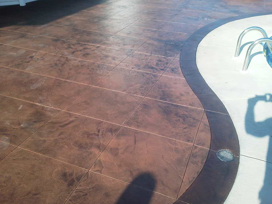 rochester stamped concrete companies ny